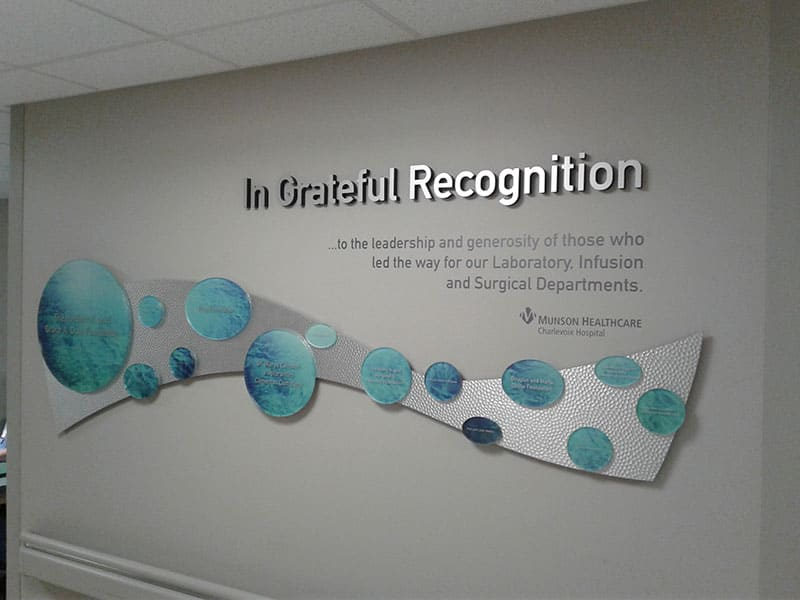 Donor Recognition Signs